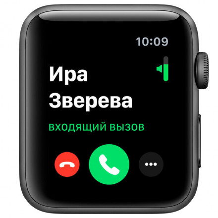 Купить Смарт-часы Apple Watch S3 38mm Space Grey Al/Black Sport Band в Донецке ДНР