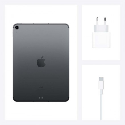Планшет Apple iPad Air 10.9 Wi-Fi+Cellular 256GB Space Grey (MYH22RU/A)