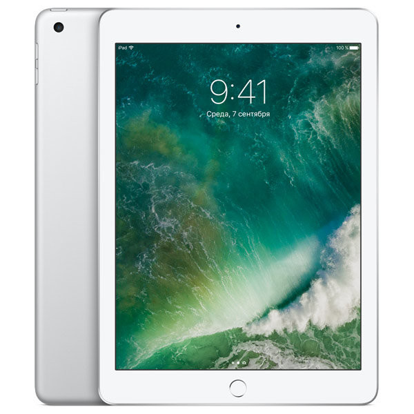 Планшет Apple iPad 128GB Wi-Fi Silver (MP2J2RU/A)