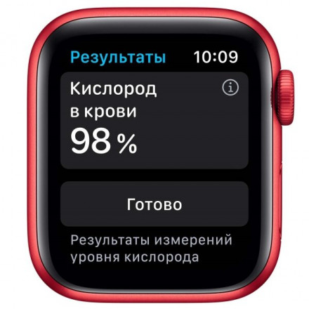 Купить Смарт-часы Apple Watch S6 44mm PRODUCT(RED) Aluminum Case with PRODUCT(RED) Sport Band (M00M3RU/A) в Донецке ДНР