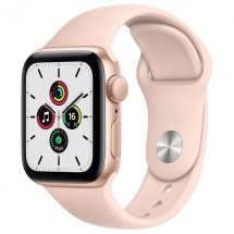Купить Смарт-часы Apple Watch SE 44mm Gold Aluminum Case with Pink Sand Sport Band (MYDR2RU/A) в Донецке ДНР