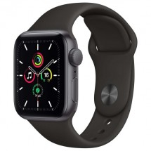 Купить Смарт-часы Apple Watch SE 44mm Space Gray Aluminum Case with Black Sport Band (MYDT2RU/A) в Донецке ДНР