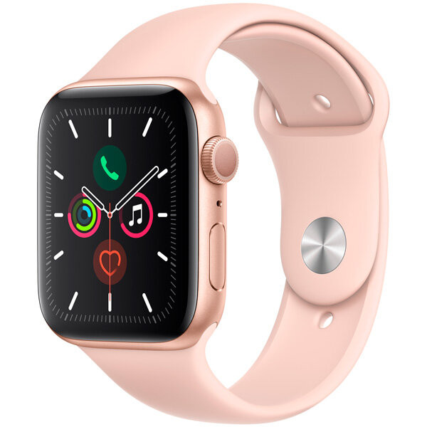 Смарт-часы Apple Watch S5 44mm Gold Sport Band (MWVE2RU/A)