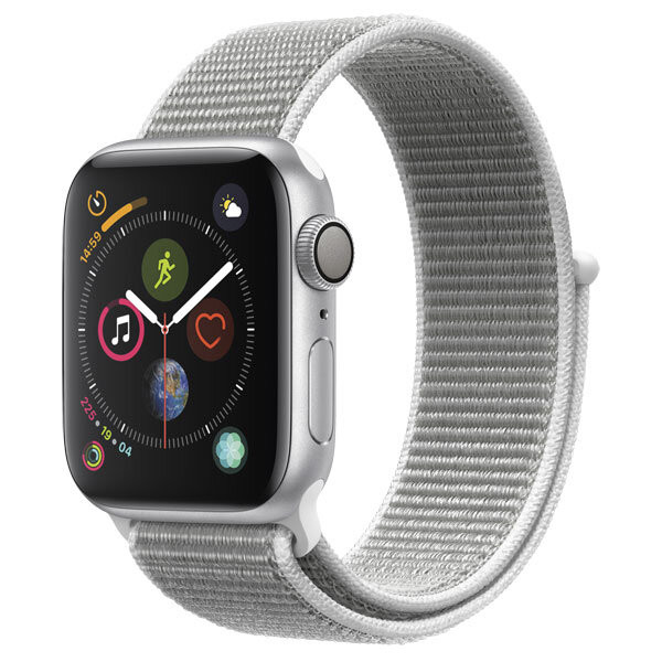 Смарт-часы Apple Watch S4 Sport 40mm SilverAl/Seashell Sport Loop