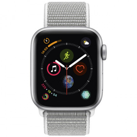 Купить Смарт-часы Apple Watch S4 Sport 40mm SilverAl/Seashell Sport Loop в Донецке ДНР